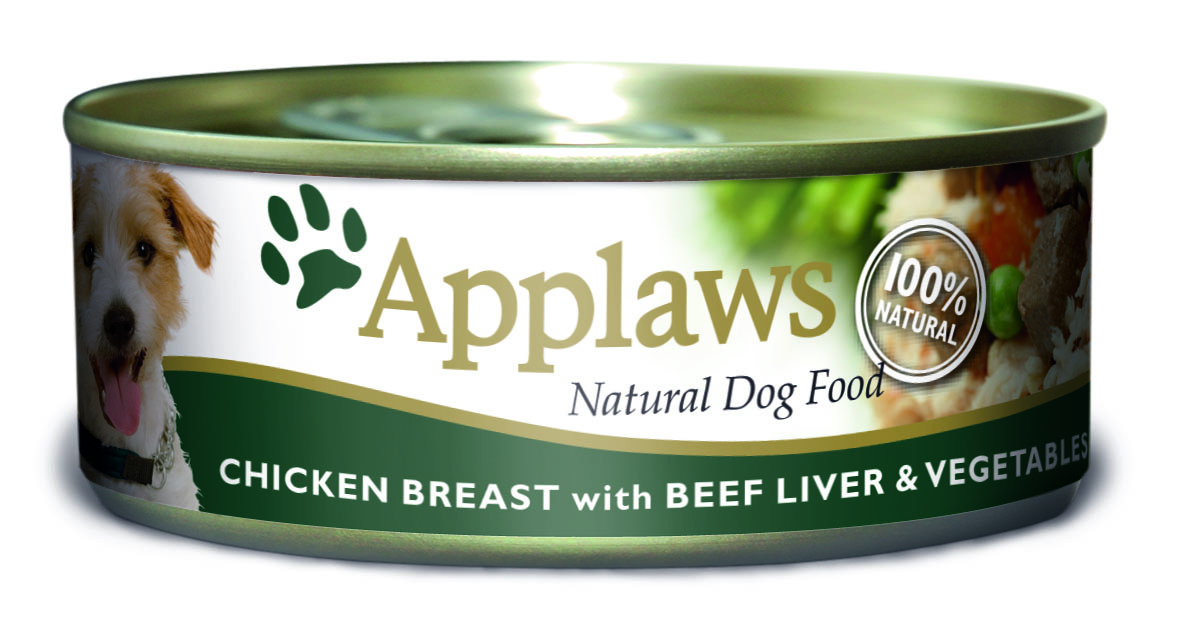 Applaws Chicken Breast With Beef Liver & Vegetables Dog Food