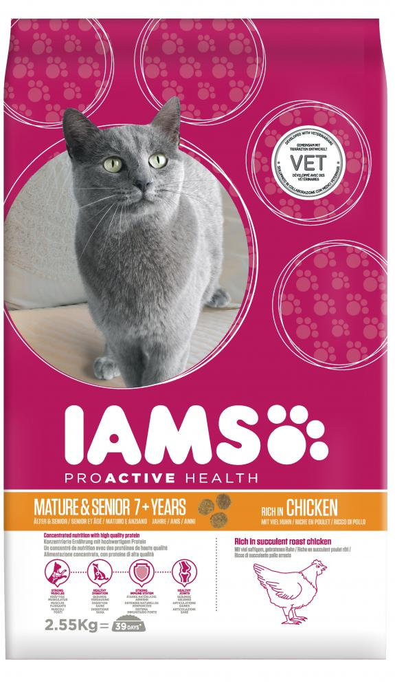 Iams Proactive Health Mature & Senior Chicken Cat Food