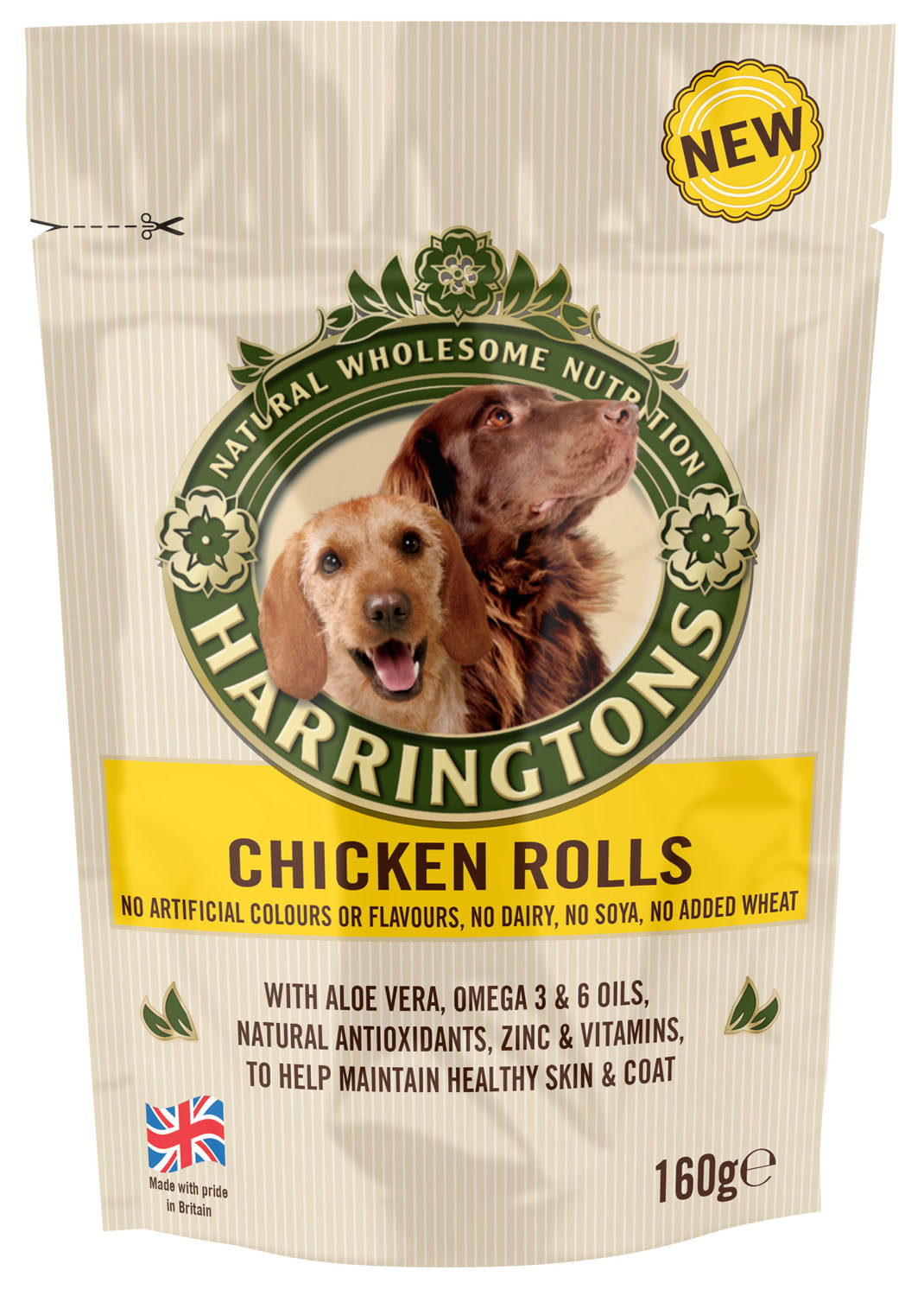 Harringtons Chicken Rolls Dog Treats