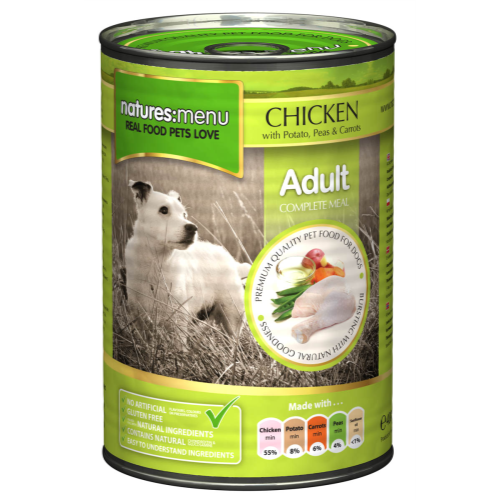 Natures Menu Chicken with Vegetables Canned Dog Food