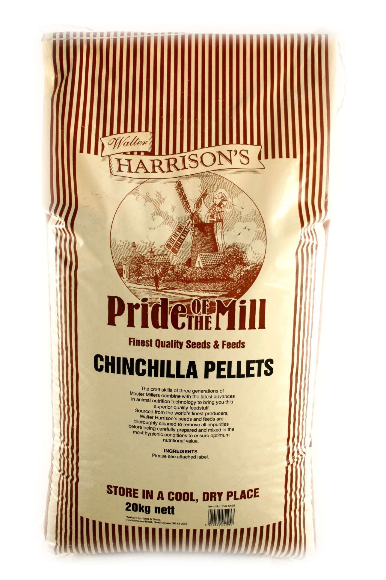 Walter Harrison's Chinchilla Pellets Food