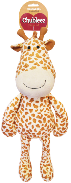 Chubleez Gerry Giraffe Dog Toy