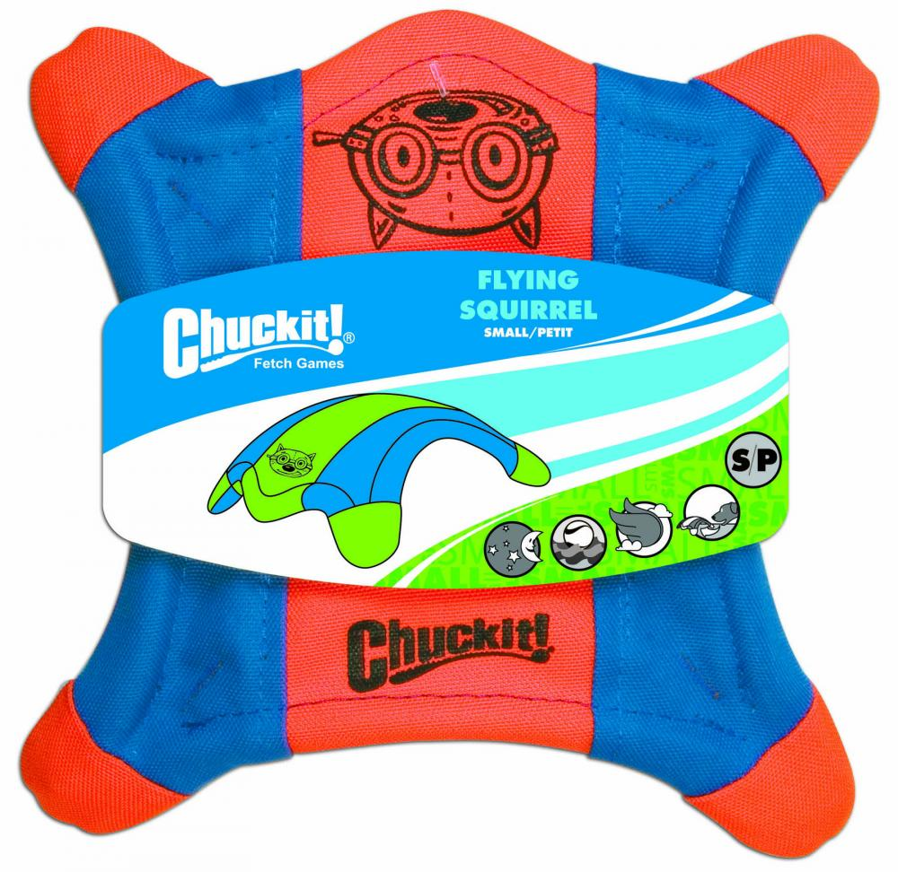 Chuckit Flying Squirrel Dog Toy
