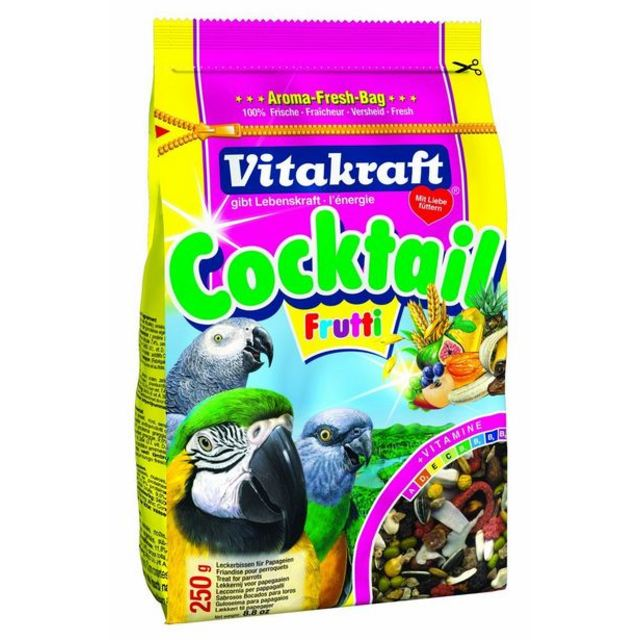 Vitakraft Cockatiel & Parrot Bird Food & Treats