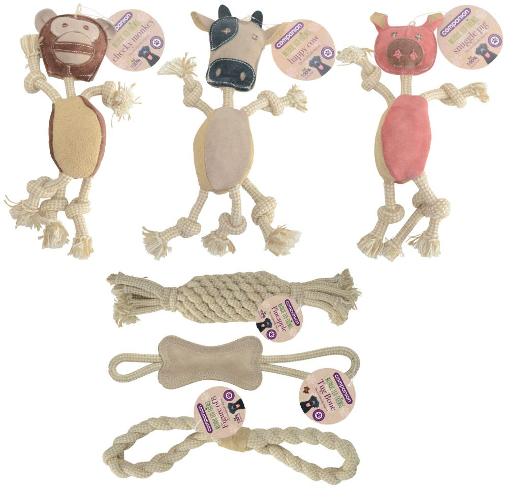Companion Natural Eco-Friends Dog Toys