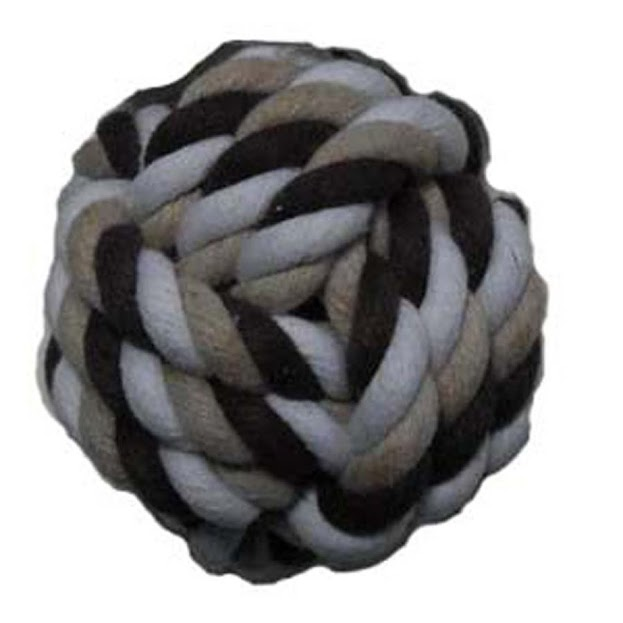 Companion Rope Ball Dog Toy