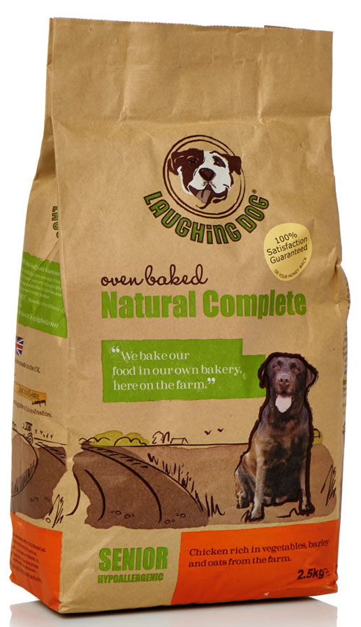 Laughing Dog Complete Senior Dog Food