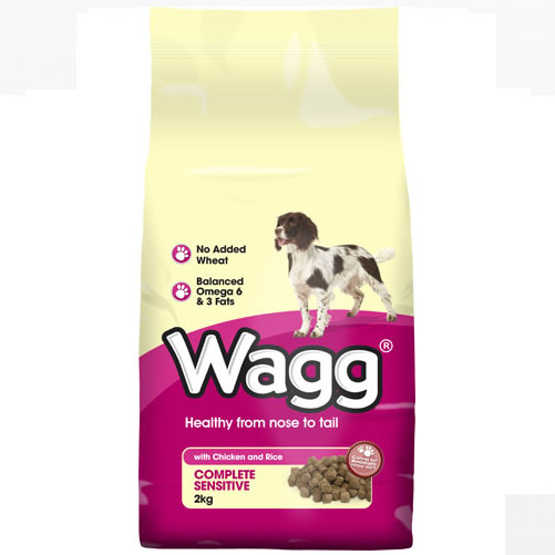 Wagg Complete Sensitive with Chicken & Rice Dog Food