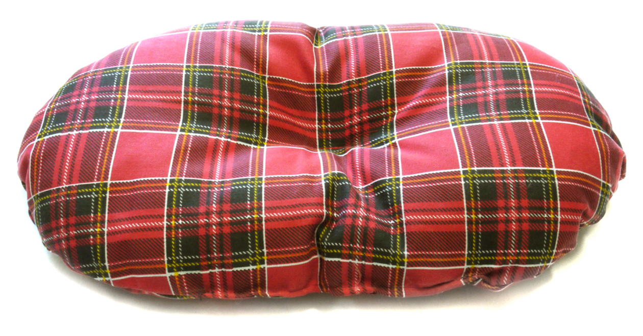 Cosipet Tartan Fibre Filled Dog Basket Liner