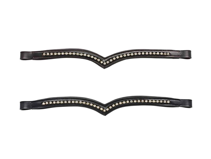 Cottage Craft V Shaped Diamante Browband
