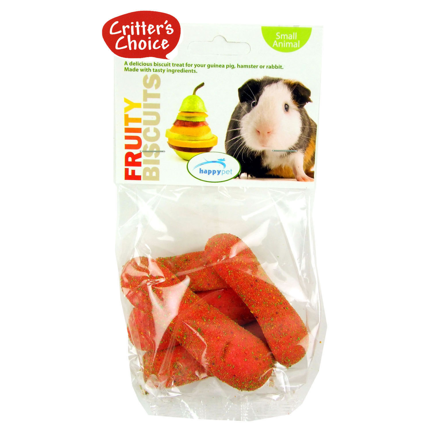 Critter's Choice Fruity Biscuits Small Animal Treats
