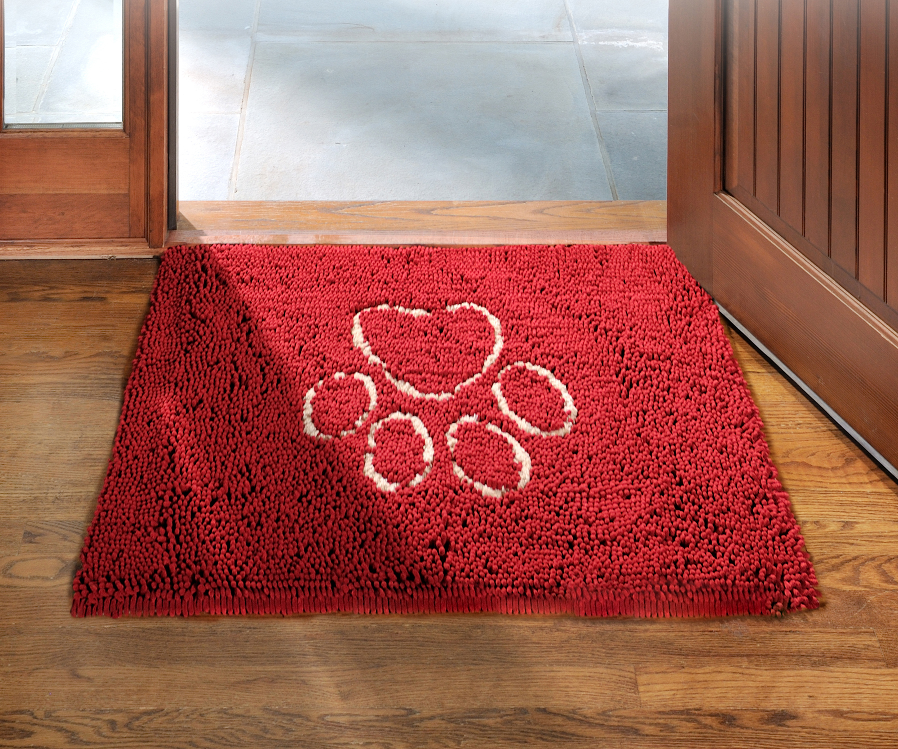 suede welcome printed mat rugs pug floors lovely product dog kitchen mats floor bath door soft area