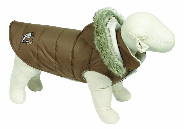 Doggy Things Brown Waterproof Puffa Jacket
