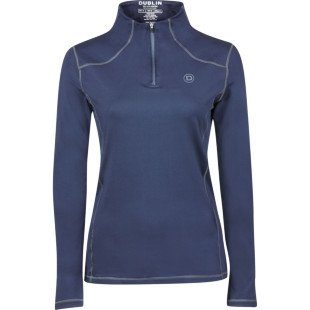 Dublin Diamond Long Sleeve Performance Top