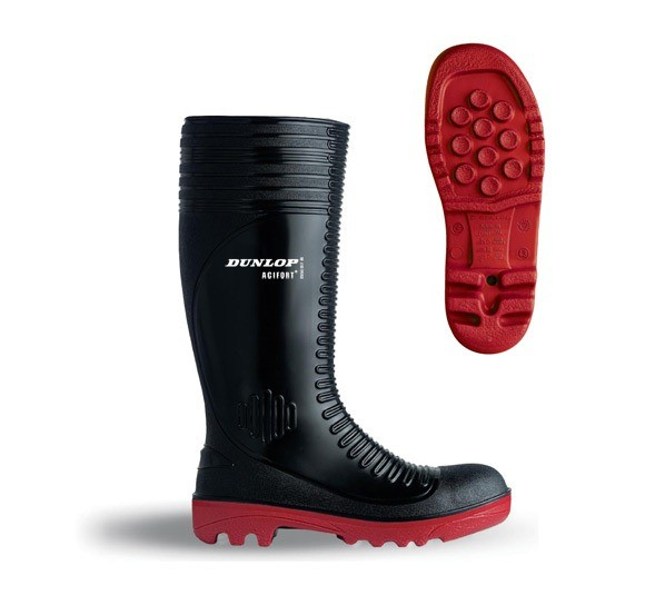 Dunlop Acifort Ribbed Boots