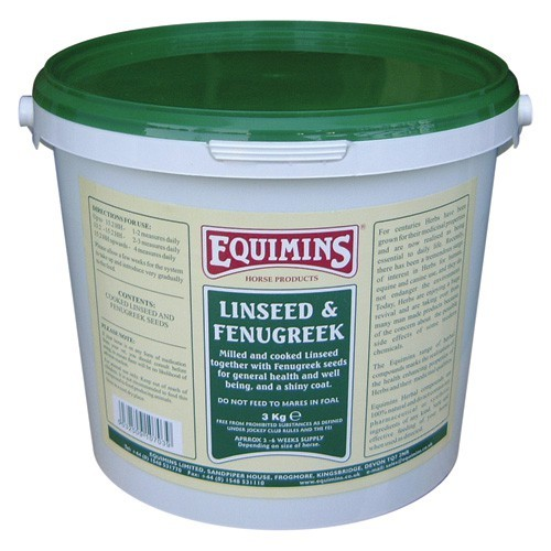 Equimins Linseed & Fenugreek for Horses