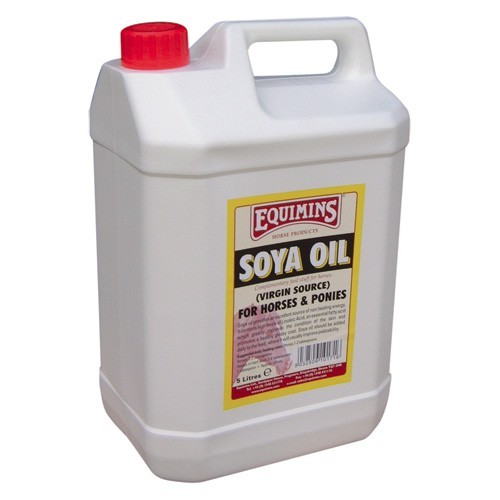 Equimins Virgin Soya Oil for Horses