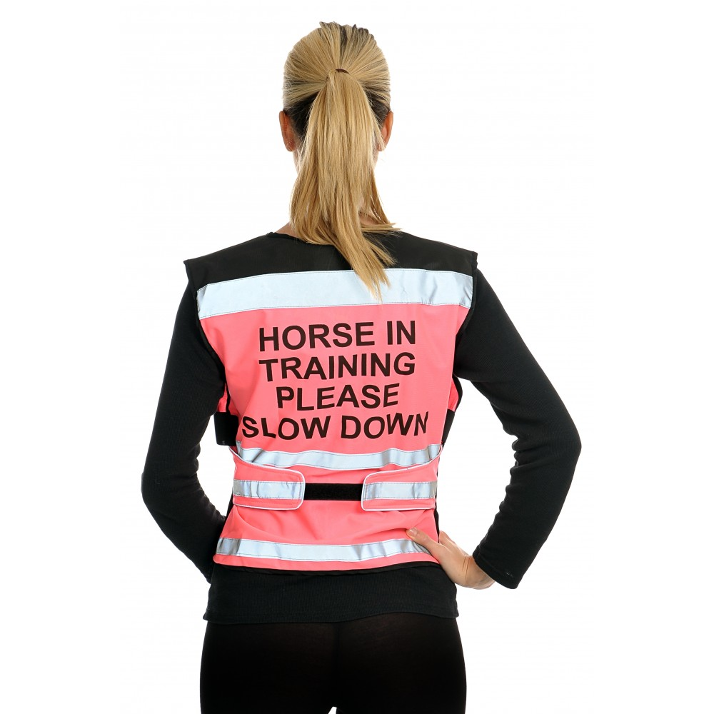 Equisafety Air High Visibility Waistcoat