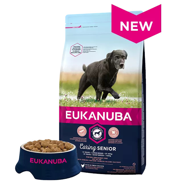 Eukanuba Caring Senior Dog Food