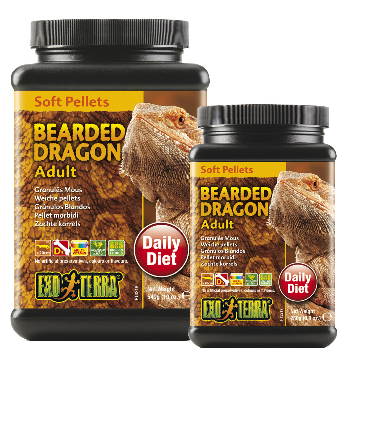 Exo Terra Bearded Dragon Food