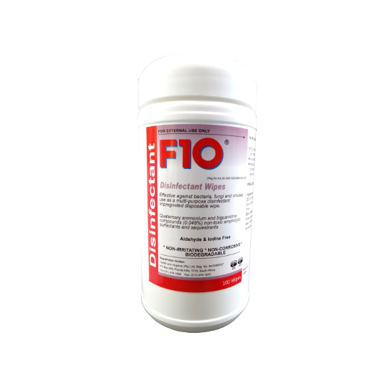 F10 Products Disinfectant Wipes