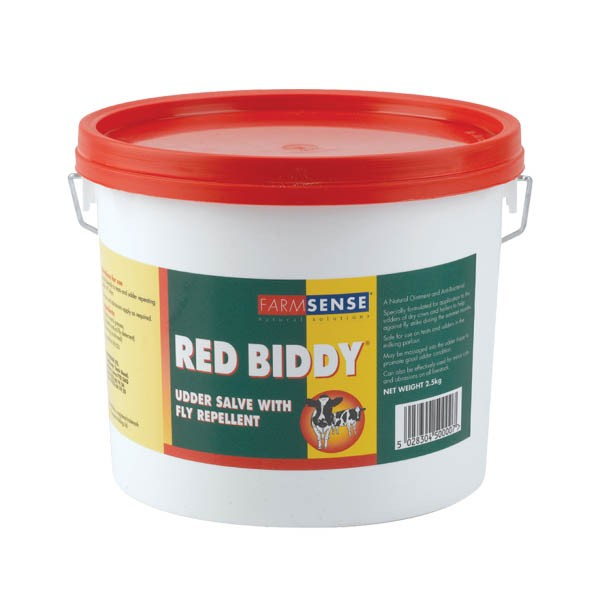 FarmSense Red Biddy Udder Salve