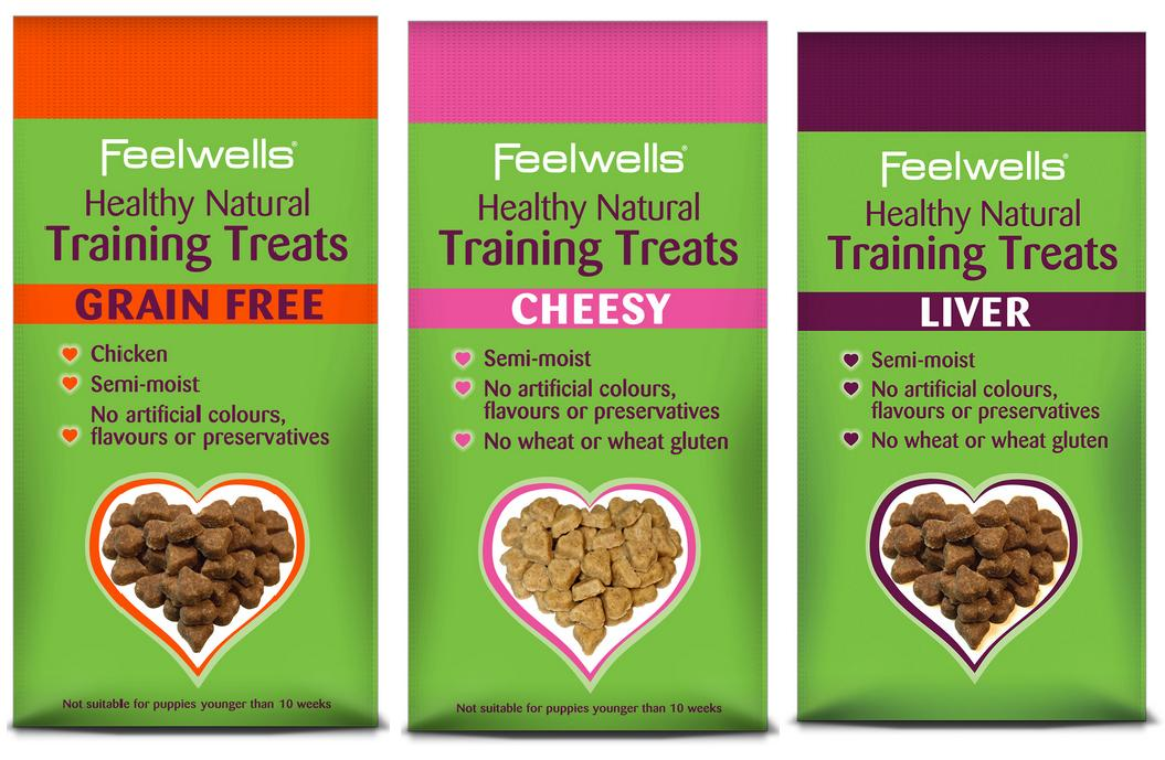 Feelwells Healthy Natural Training Dog Treats