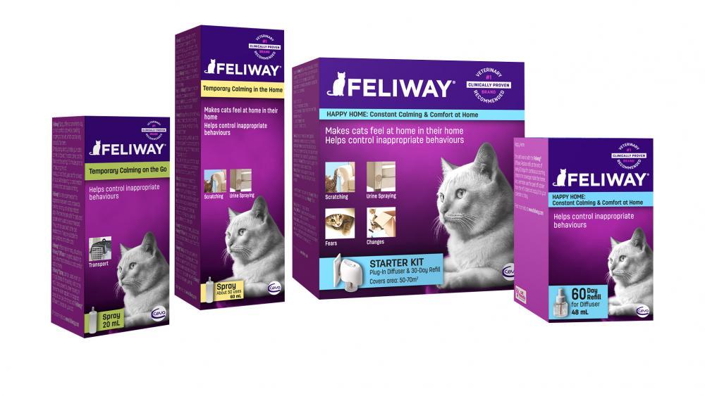 Feliway cat calming diffuser kit