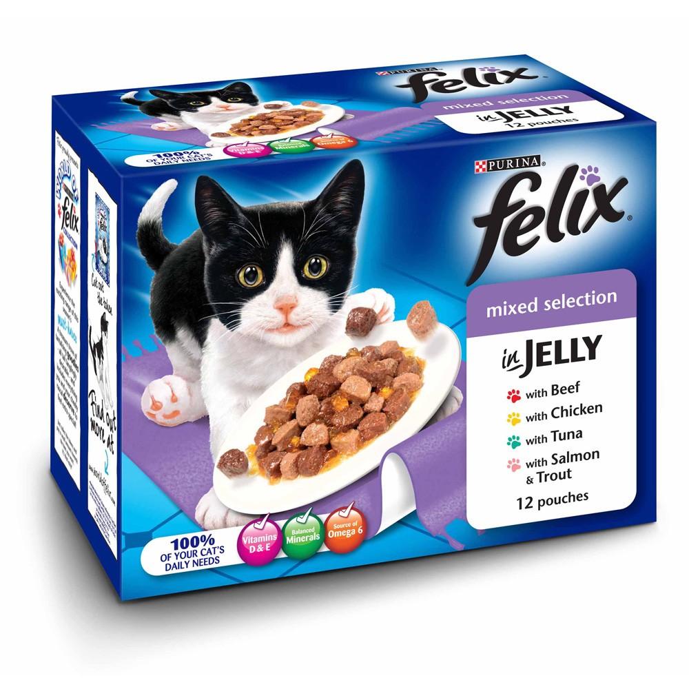Felix Cat Food Pouches