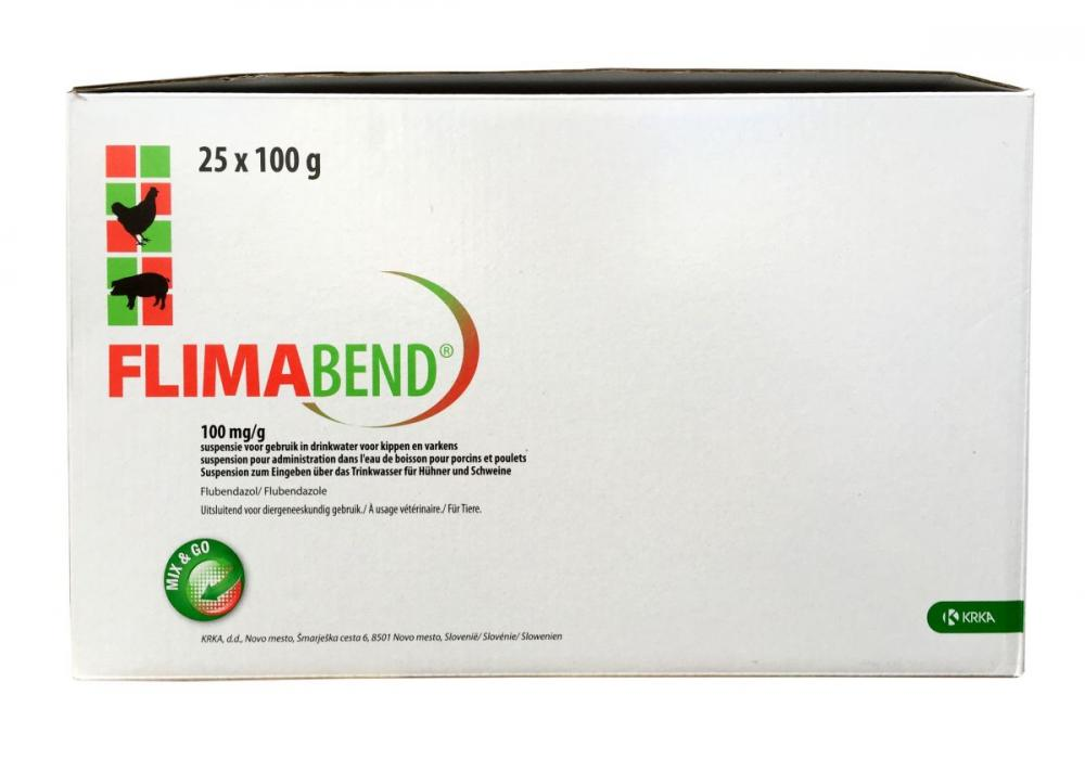 Flimabend 100mg Suspension for Pigs and Chickens