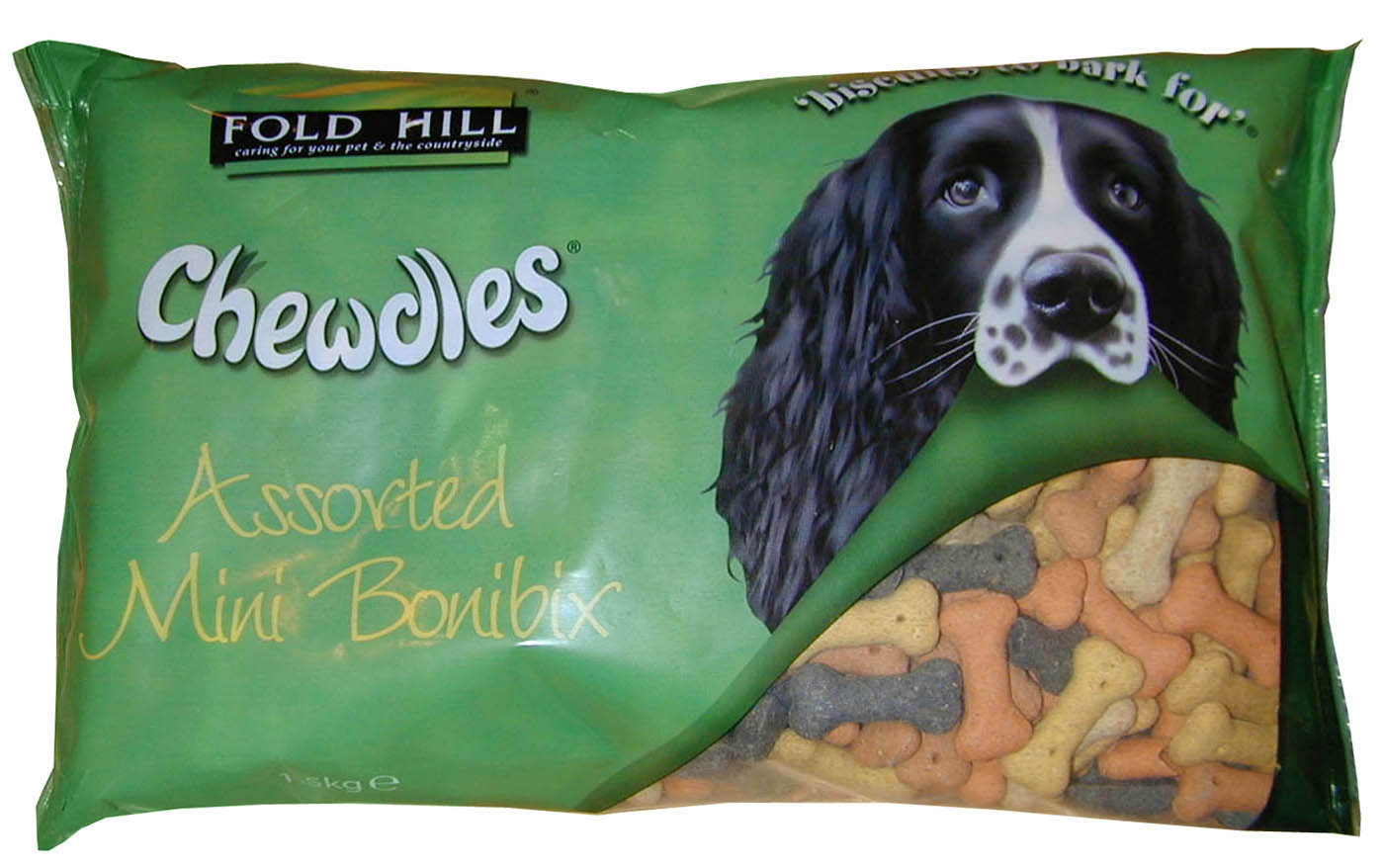 Fold Hill Bonibix Assorted Mini Bones Dog Treats