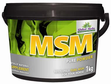 Global Herbs MSM Pure for Horses