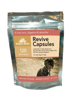 Global Herbs Revive Capsules for Dogs