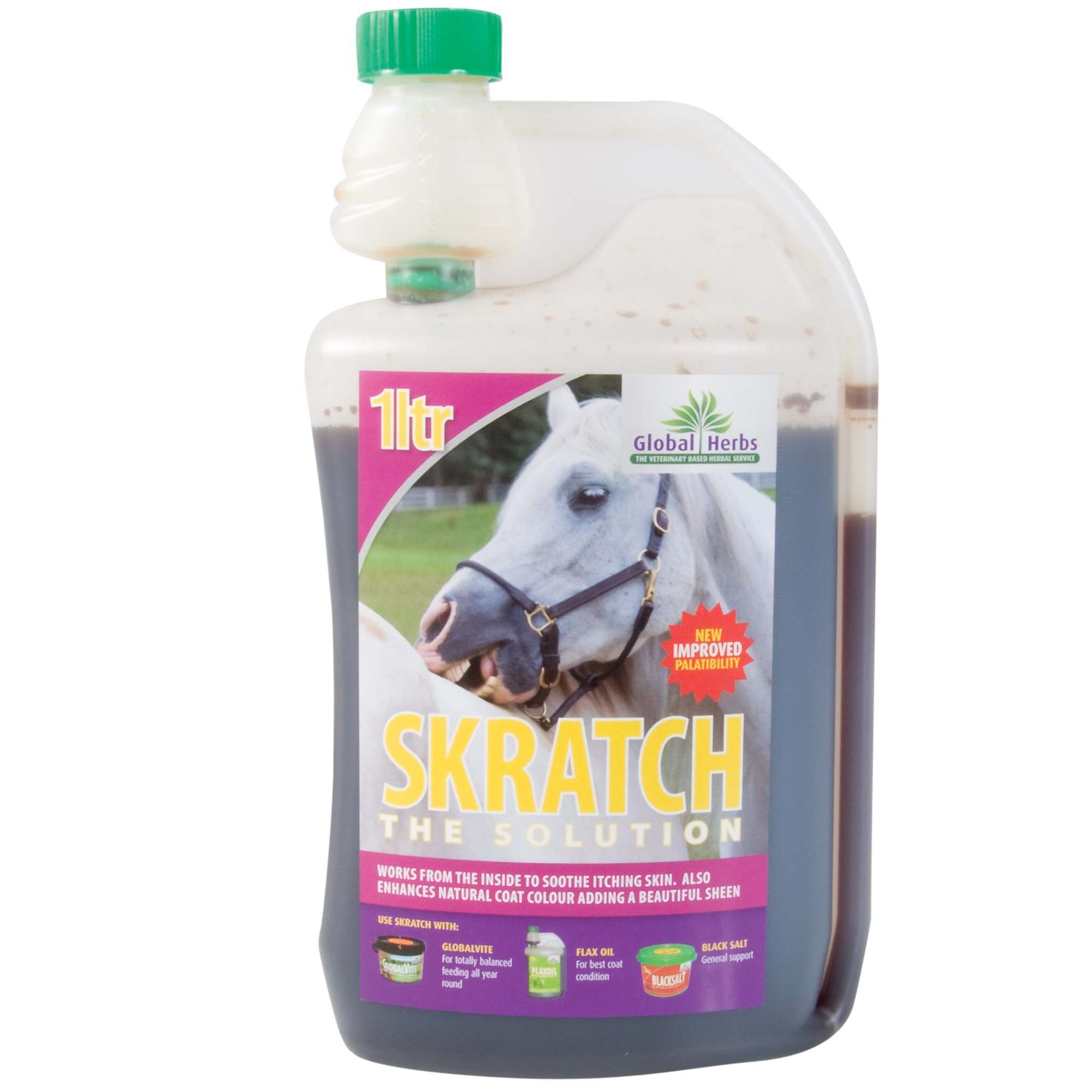 Global Herbs Skratch Syrup for Horses