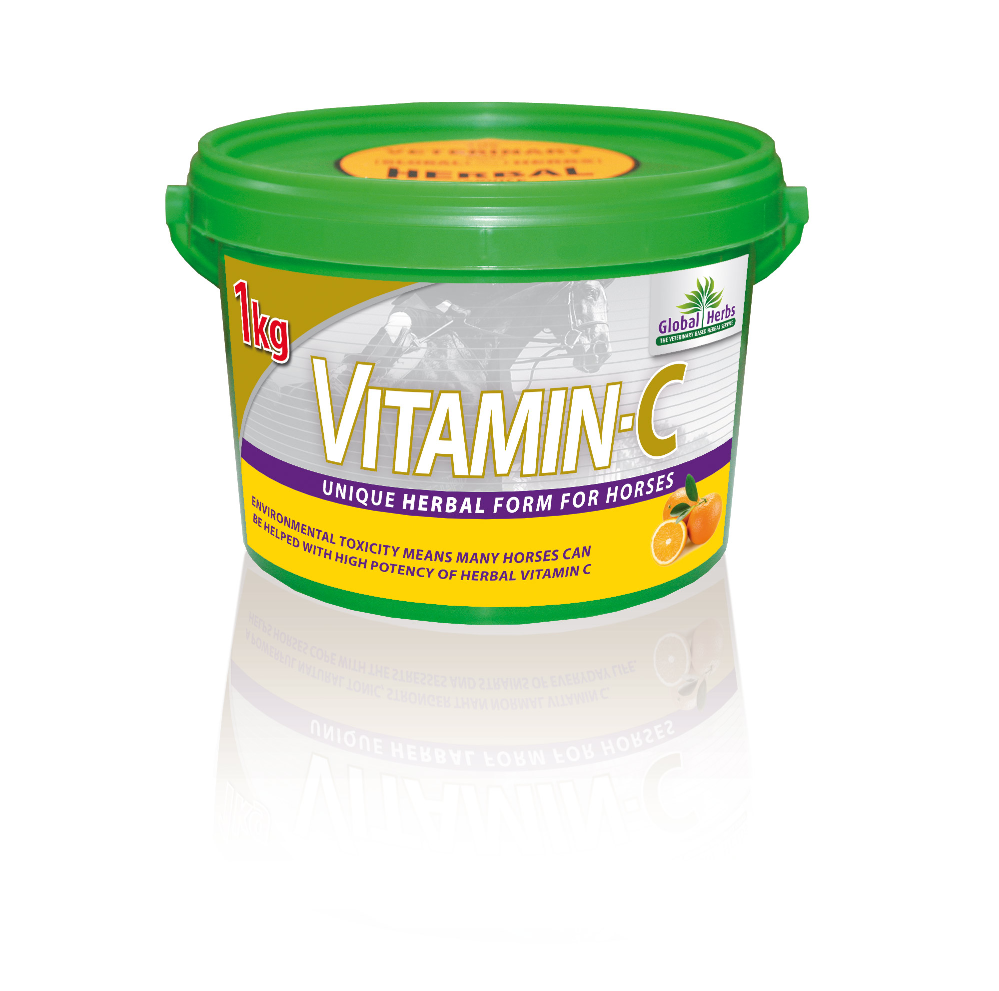 Global Herbs Vitamin-C for Horses