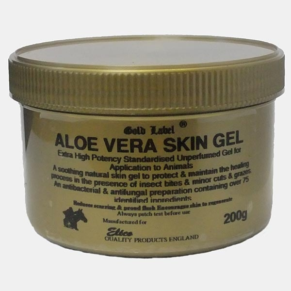 Gold Label Aloe Vera Skin Gel for Horses