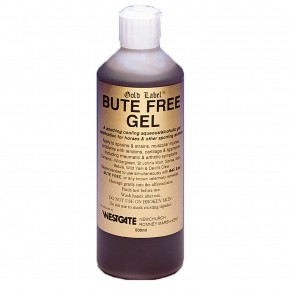Gold Label Bute Free Gel for Horses