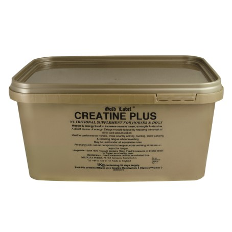 Gold Label Creatine Plus for Horses