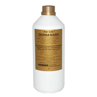 Gold Label Dermawash for Horses