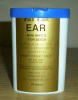 Gold Label Ear Wipes for Horses