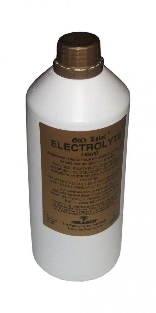 Gold Label Electrolyte Liquid for Horses