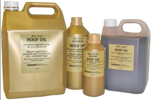 Gold Label Hoof Oil for Horses