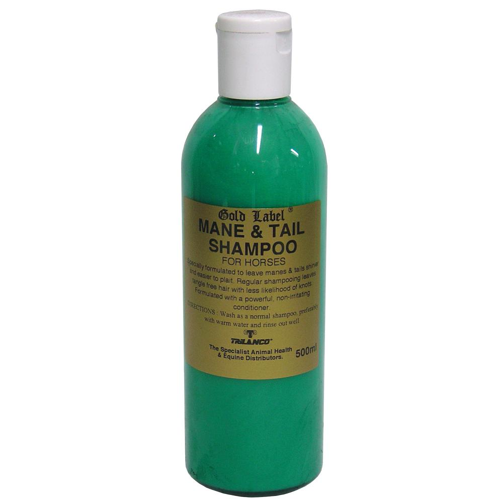 Gold Label Mane And Tail Shampoo for Horses