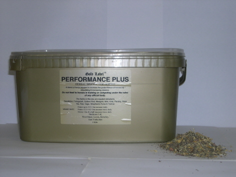 Gold Label Performance Plus for Horses
