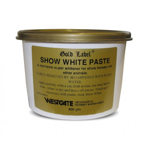 Gold Label Show White Paste for Horses