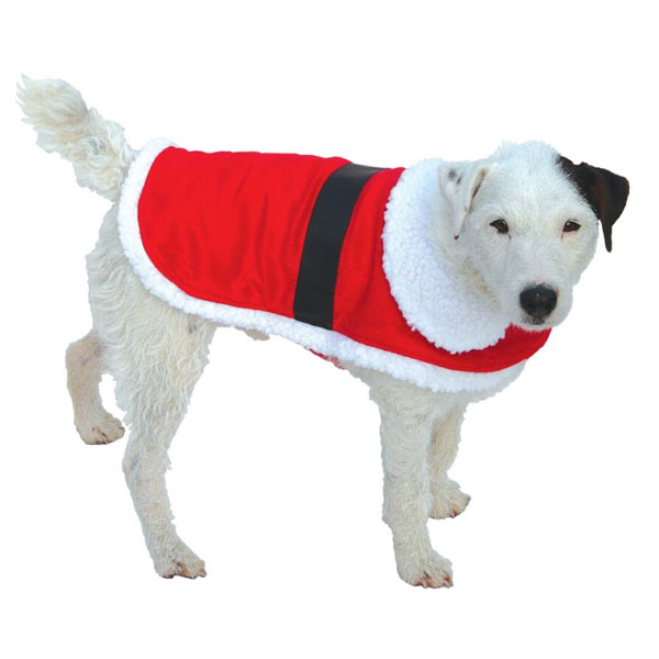 Good Boy Christmas Santa Coat for Dogs