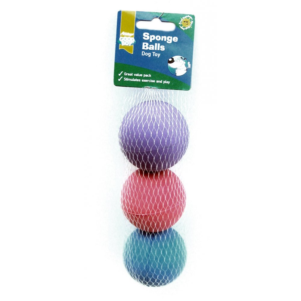 Good Boy Sponge Ball Dog Toys
