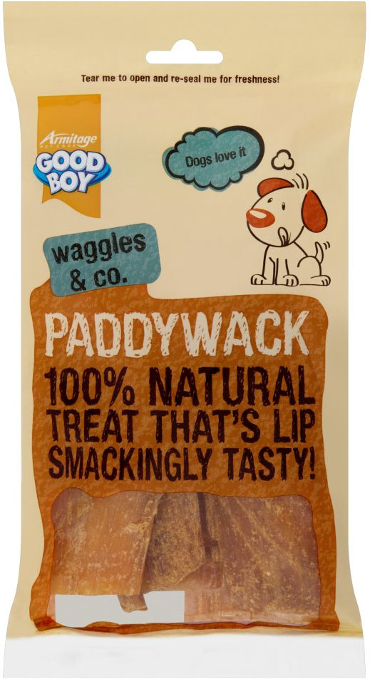 Good Boy Waggles & Co Paddywack Dog Treats