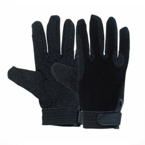 Harry Hall Cotton Pimple Grip Gloves
