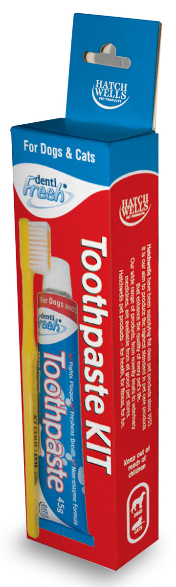 Hatch Wells Dentifresh Toothpaste Kit